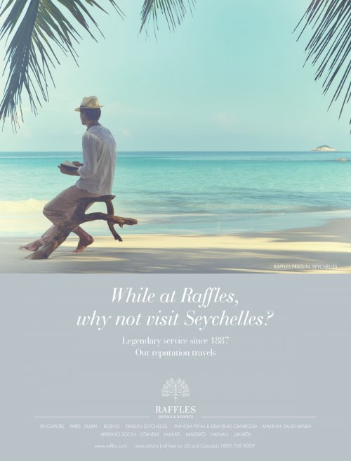 Raffles Hotels Advertising Campaigns