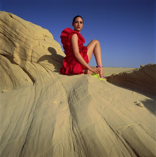 Desert Girl, Photographer Ram Shergill